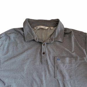 Travis Mathew Short Sleeve Golf Polo Shirt XL
